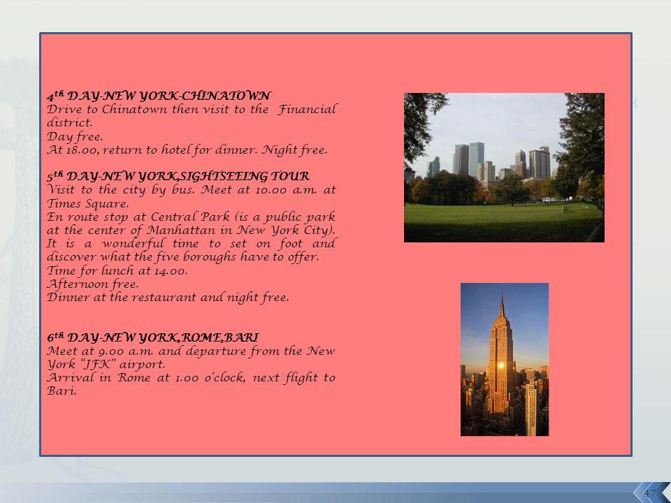 4th DAY-NEW YORK-CHINATOWN