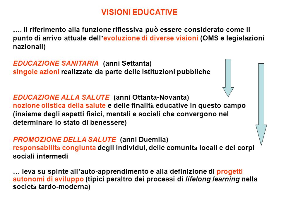 VISIONI EDUCATIVE