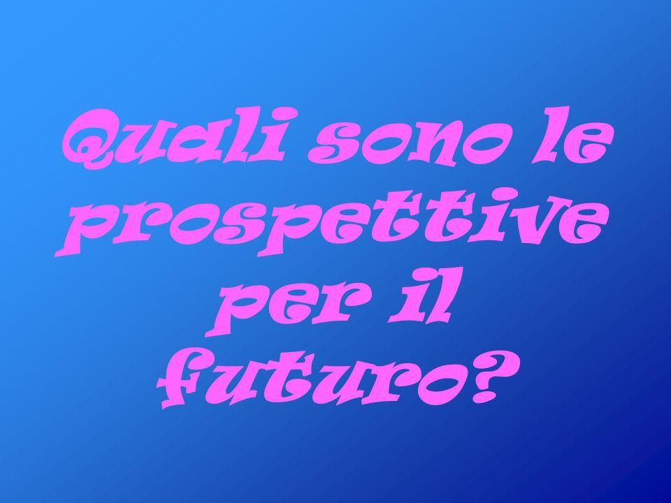 Quali sono le prospettive per il futuro