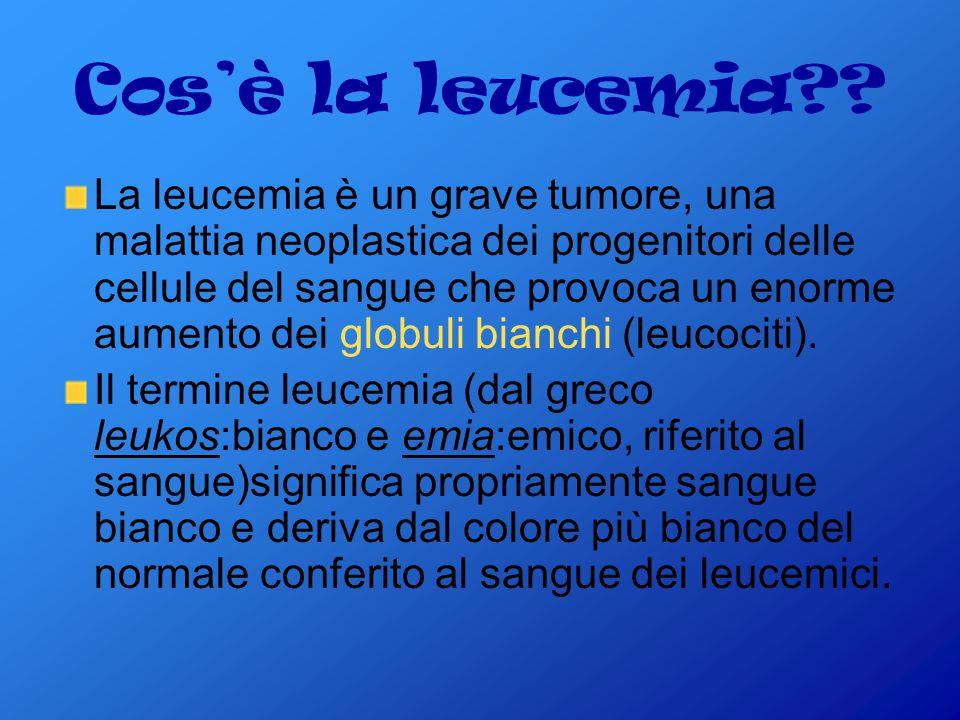 Cos'è la leucemia