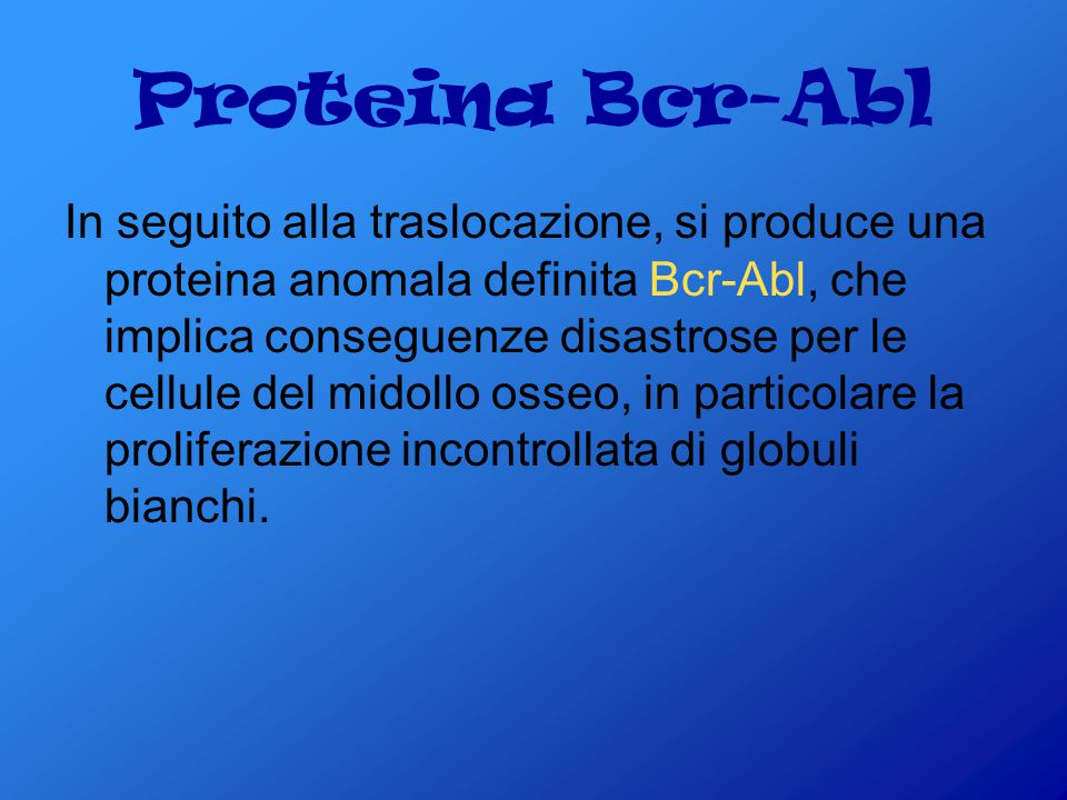 Proteina Bcr-Abl