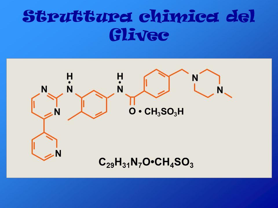 Struttura chimica del Glivec