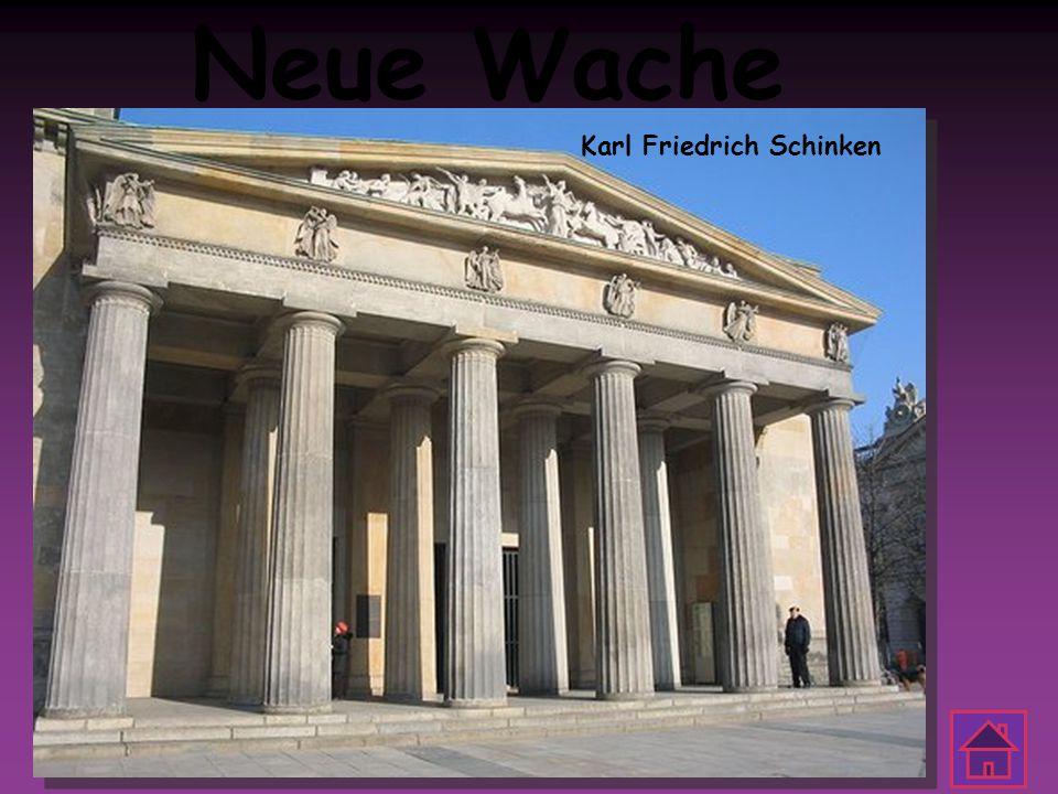 Neue Wache Karl Friedrich Schinken