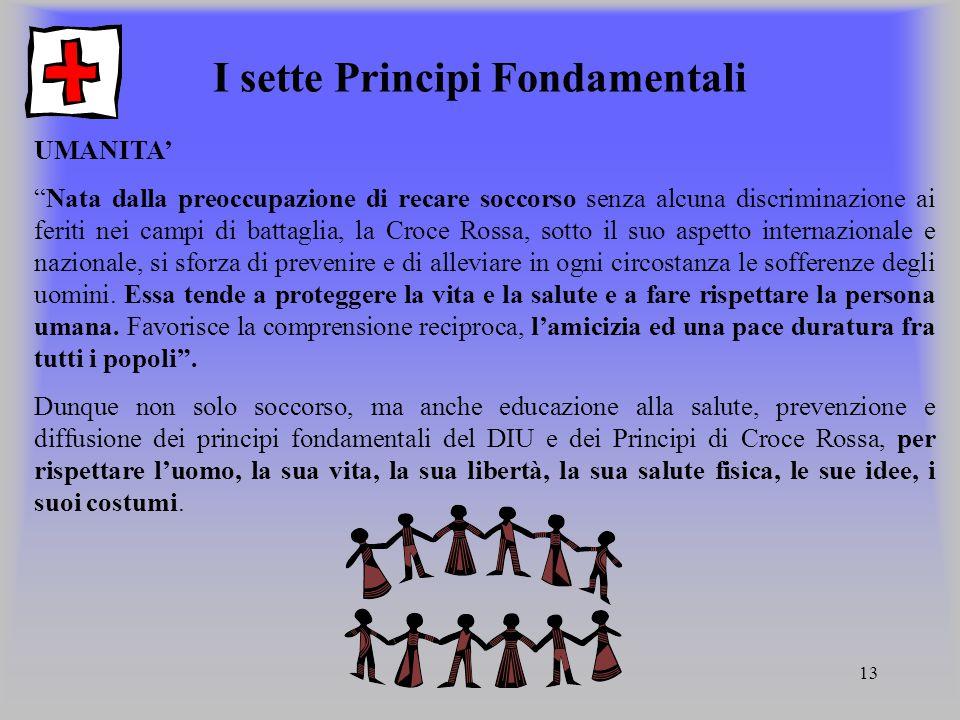 I sette Principi Fondamentali