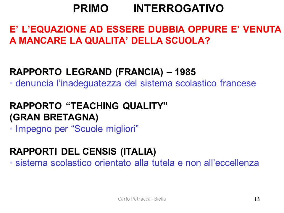 Carlo Petracca - Biella