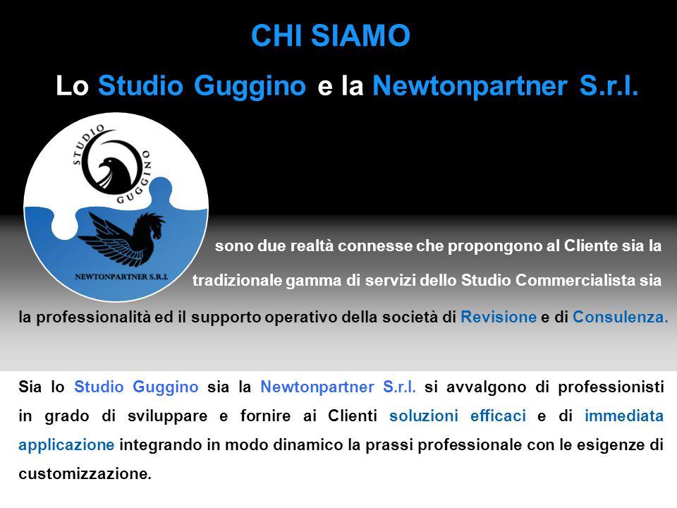 Lo Studio Guggino e la Newtonpartner S.r.l.