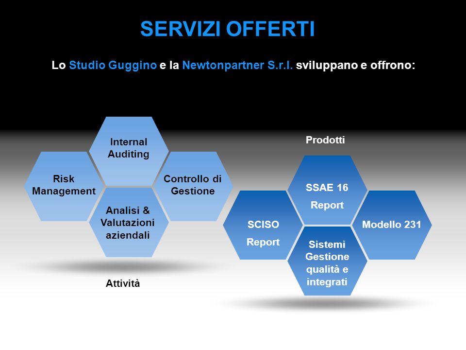 Lo Studio Guggino e la Newtonpartner S.r.l. sviluppano e offrono:
