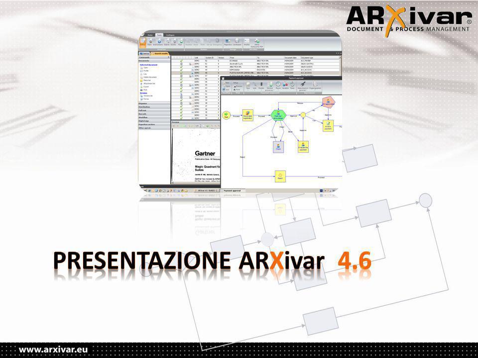 PRESENTAZIONE ARXivar 4.6