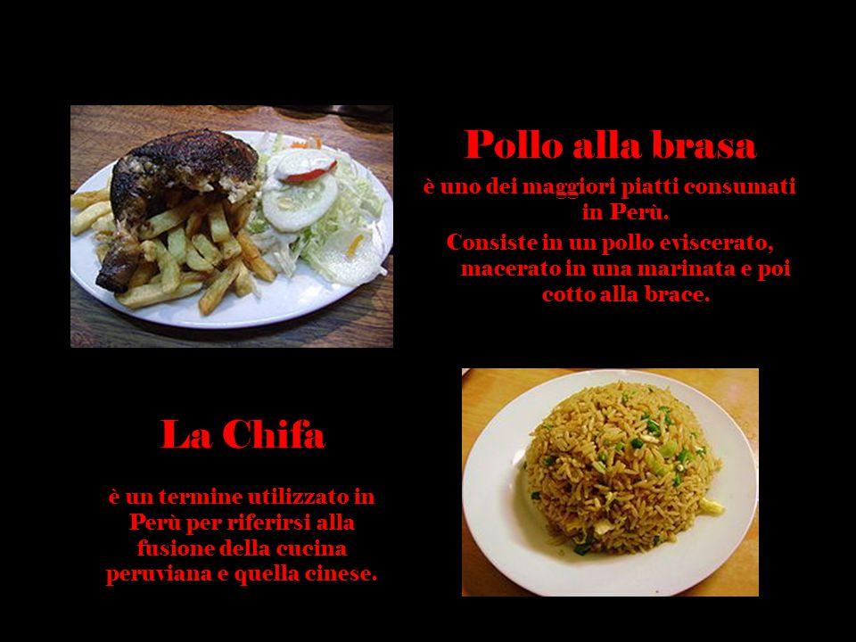 è uno dei maggiori piatti consumati in Perù.