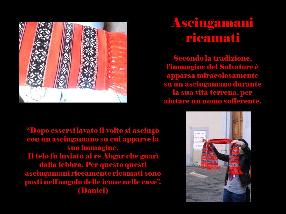 Usanze Rumene Asciugamani ricamati