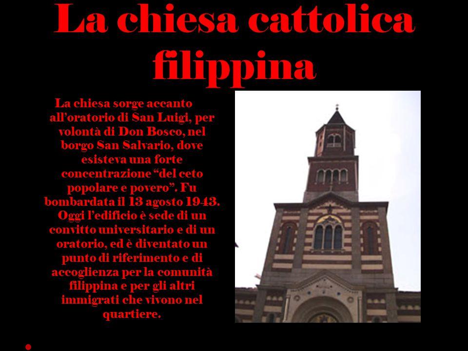 La chiesa cattolica filippina