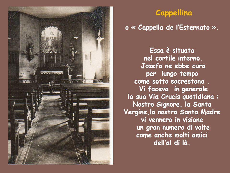 o « Cappella de l'Esternato ».