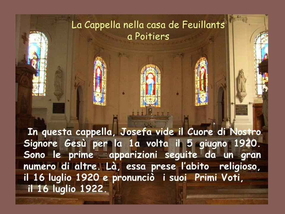 La Cappella nella casa de Feuillants