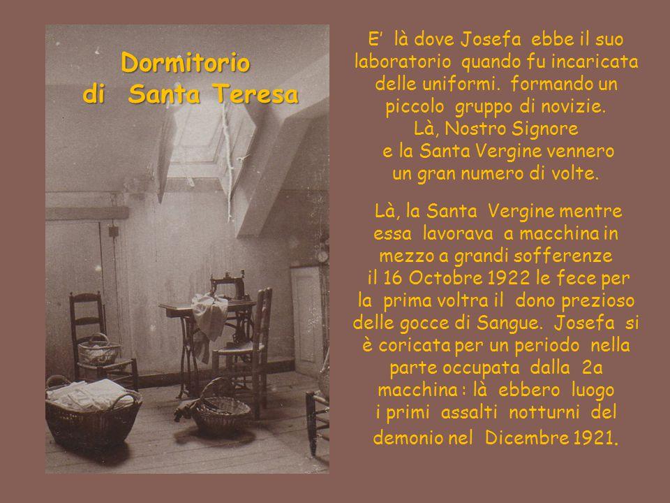 Dormitorio di Santa Teresa