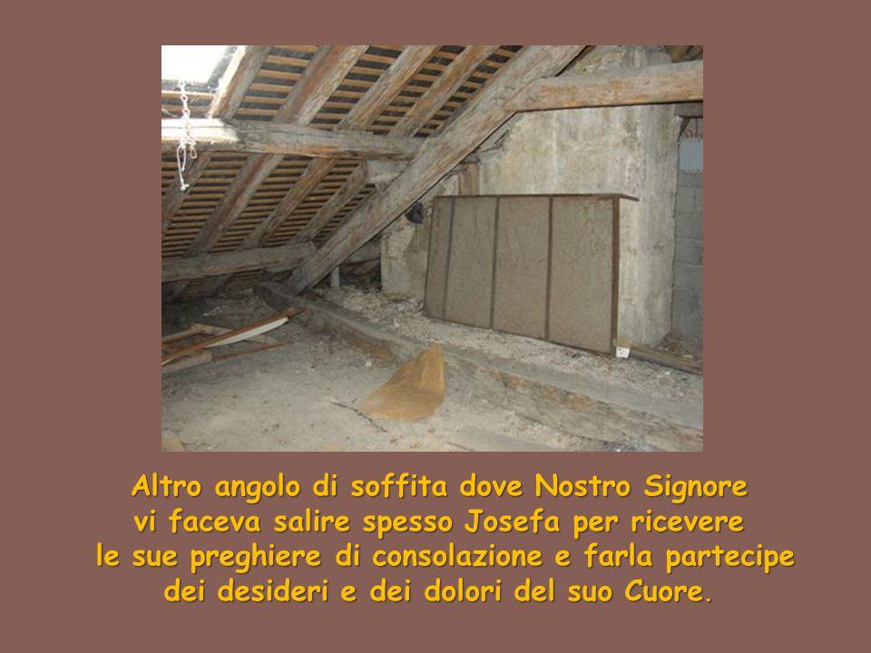 Altro angolo di soffita dove Nostro Signore