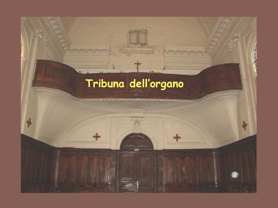Tribuna dell'organo