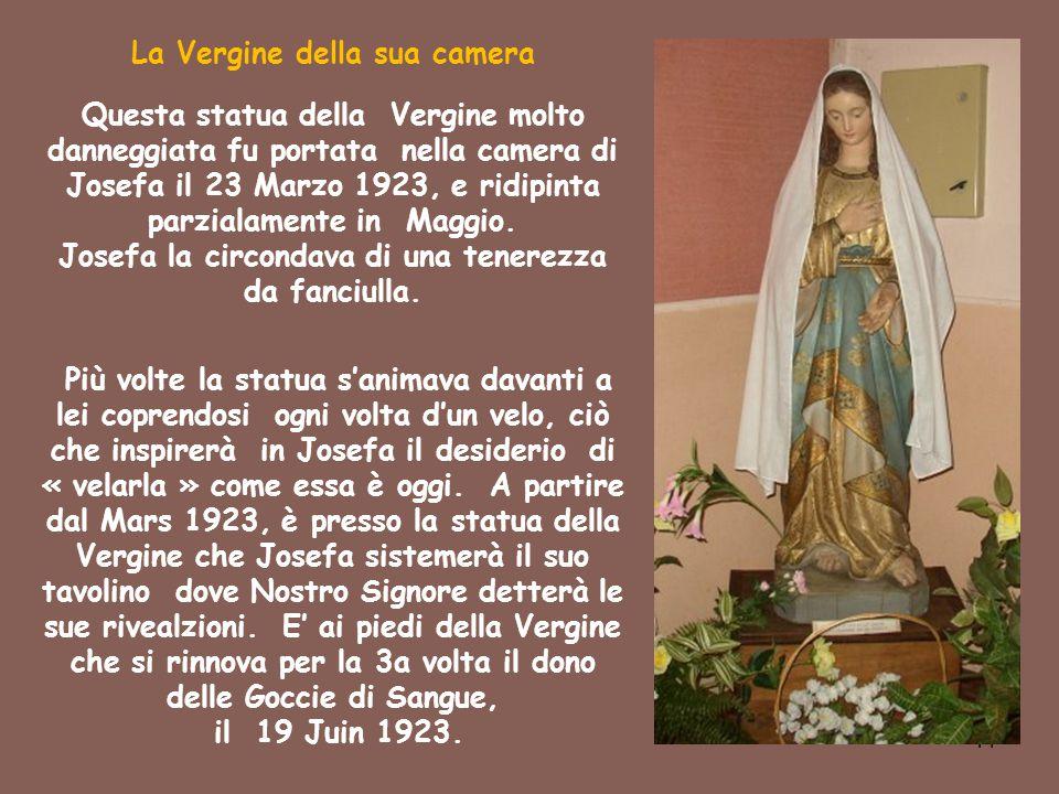 La Vergine della sua camera