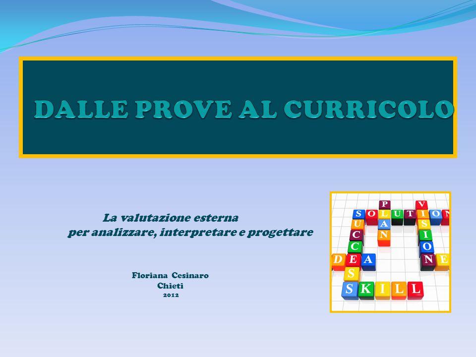 DALLE PROVE AL CURRICOLO