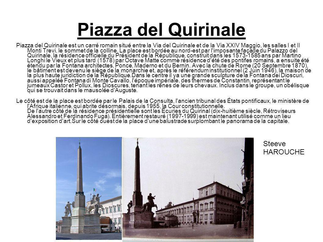 Piazza del Quirinale Steeve HAROUCHE