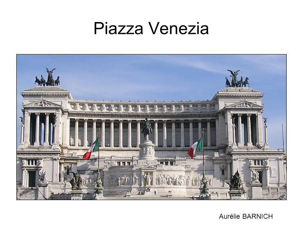 Piazza Venezia Aurélie BARNICH