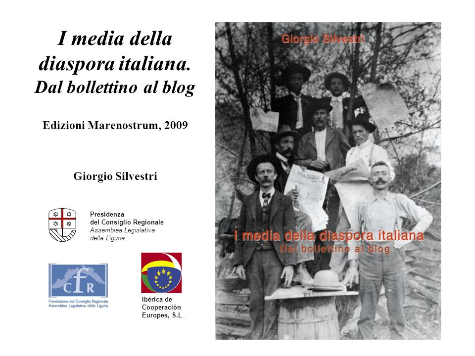 I media della diaspora italiana. Dal bollettino al blog
