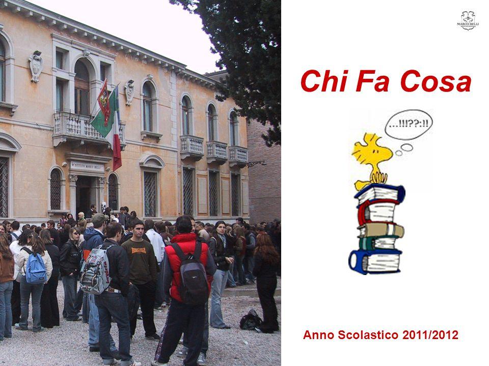 Chi Fa Cosa Anno Scolastico 2011/2012