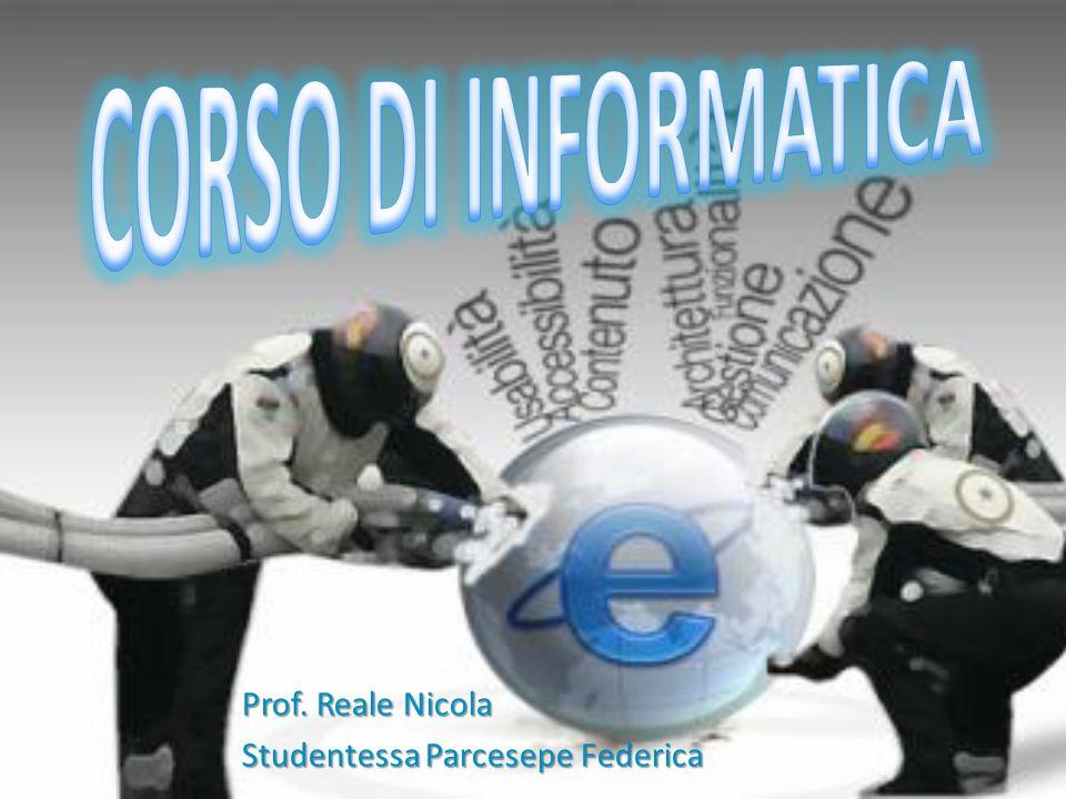 Prof. Reale Nicola Studentessa Parcesepe Federica