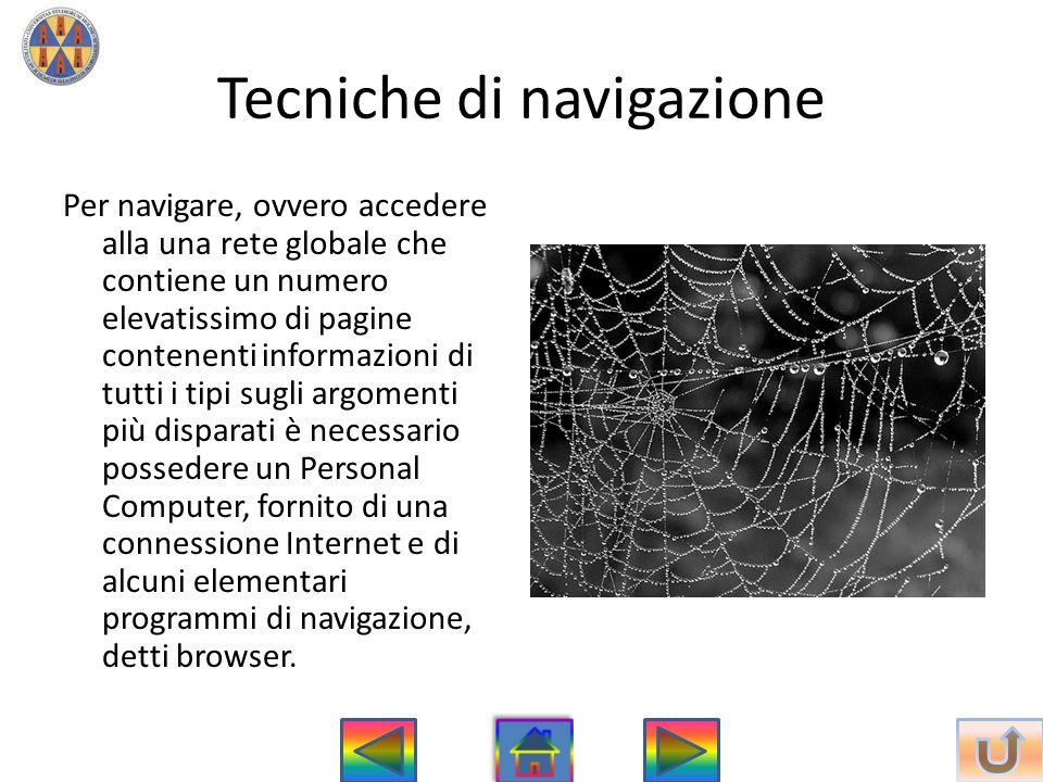 Tecniche di navigazione
