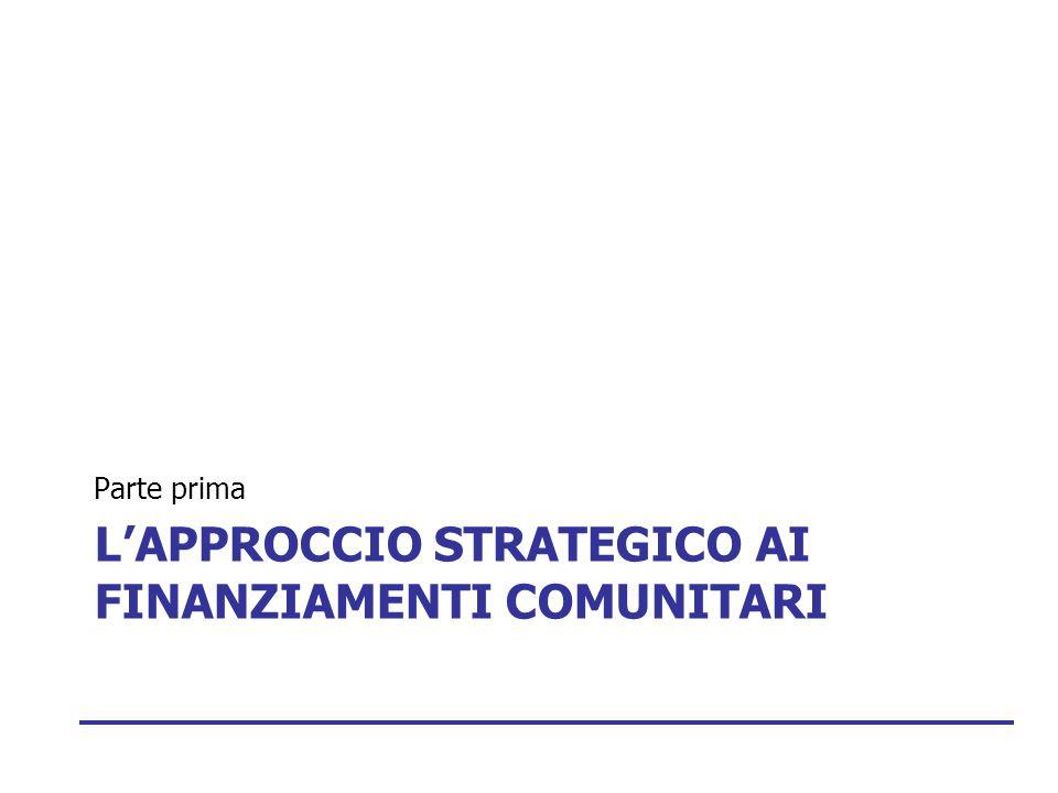 L'Approccio strategico ai Finanziamenti comunitari