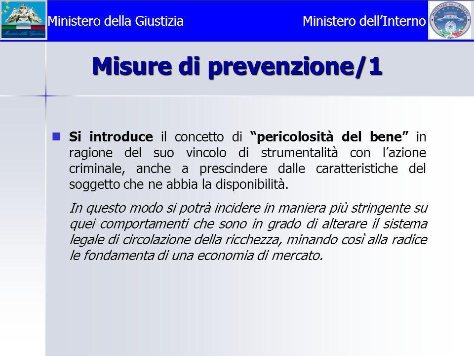 Misure di prevenzione/1