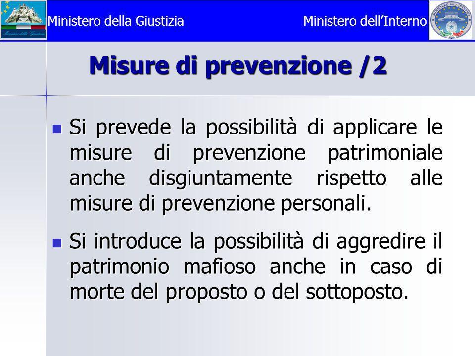 Misure di prevenzione /2