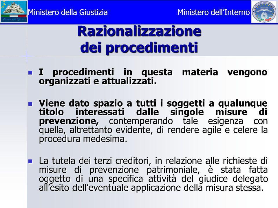 Razionalizzazione dei procedimenti