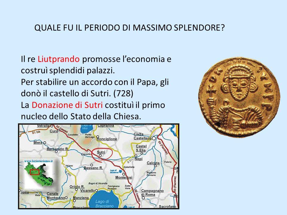 QUALE FU IL PERIODO DI MASSIMO SPLENDORE