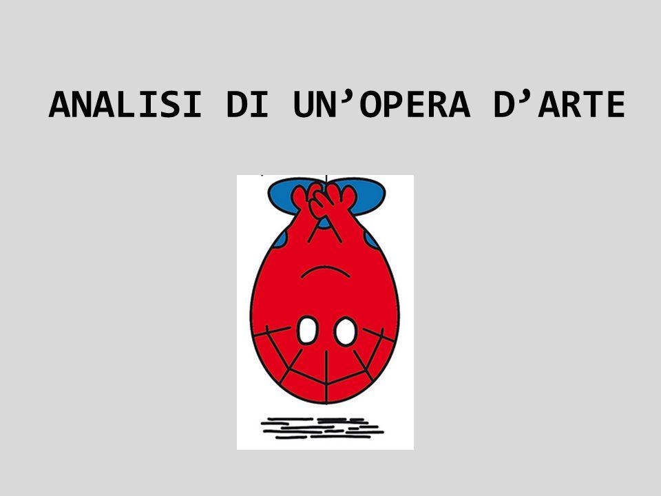 ANALISI DI UN'OPERA D'ARTE