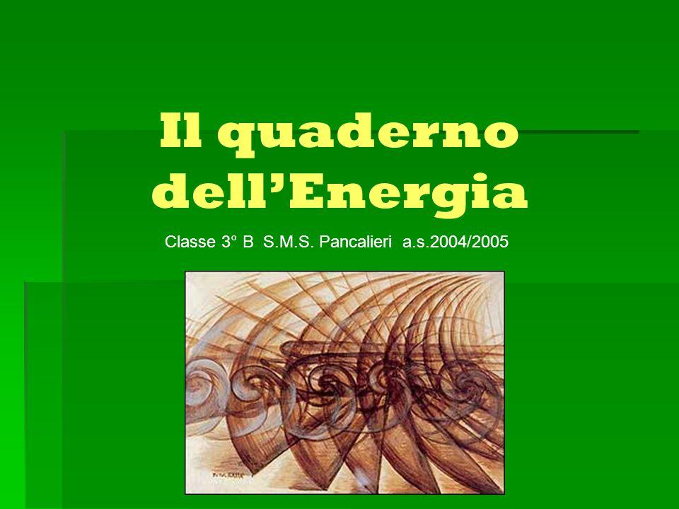 Il quaderno dell'Energia