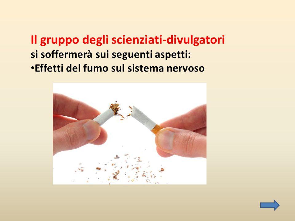 Il gruppo degli scienziati-divulgatori si soffermerà sui seguenti aspetti: