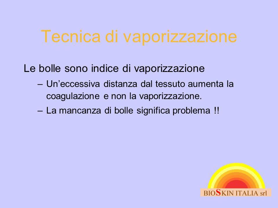 Tecnica di vaporizzazione