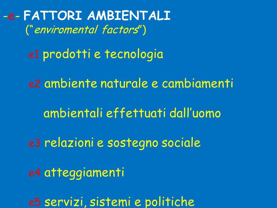 -e- FATTORI AMBIENTALI
