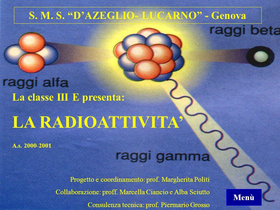 S. M. S. D'AZEGLIO- LUCARNO - Genova
