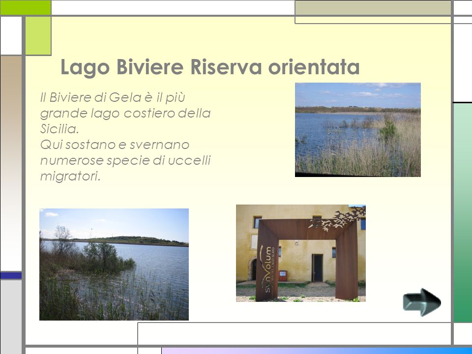 Lago Biviere Riserva orientata