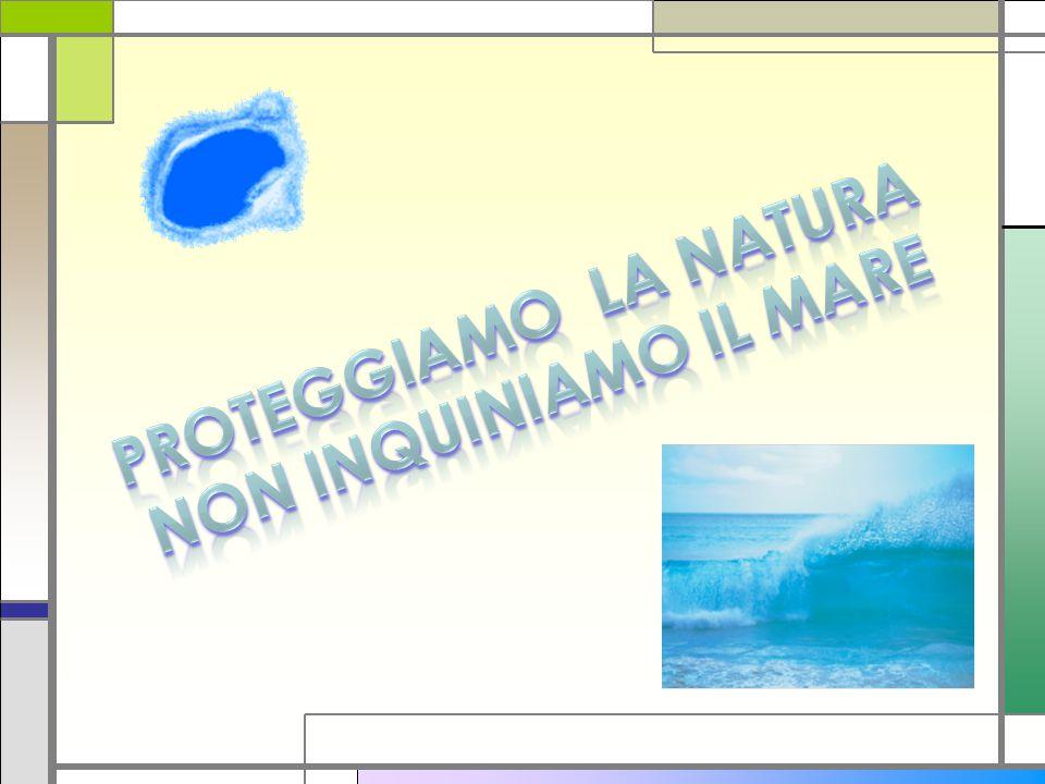 Proteggiamo la natura Non inquiniamo il mare