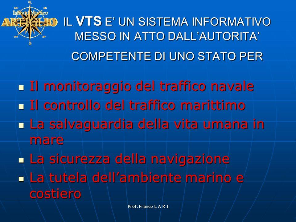 Il monitoraggio del traffico navale