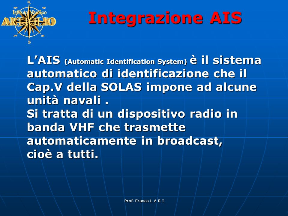 Integrazione AIS
