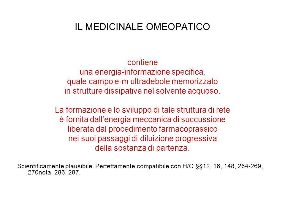 IL MEDICINALE OMEOPATICO