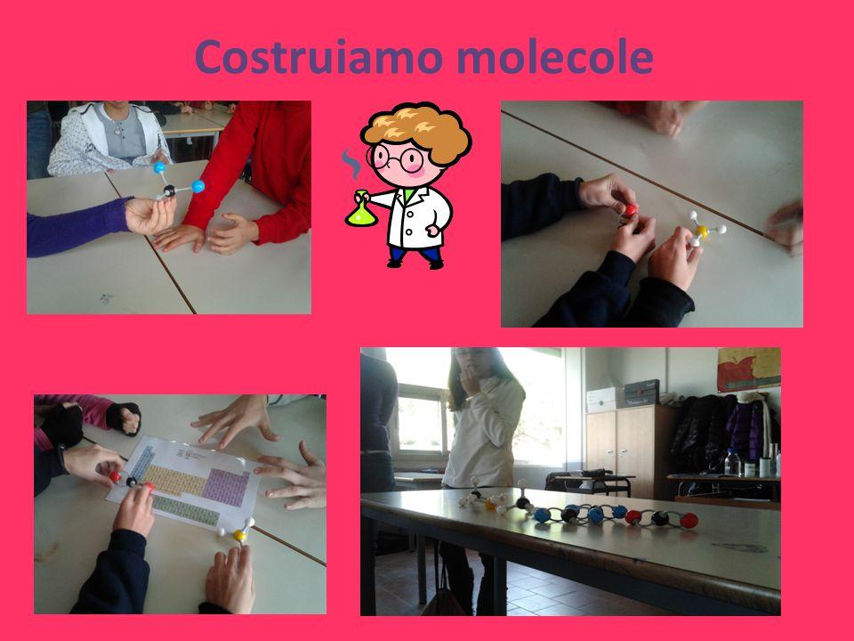 Costruiamo molecole