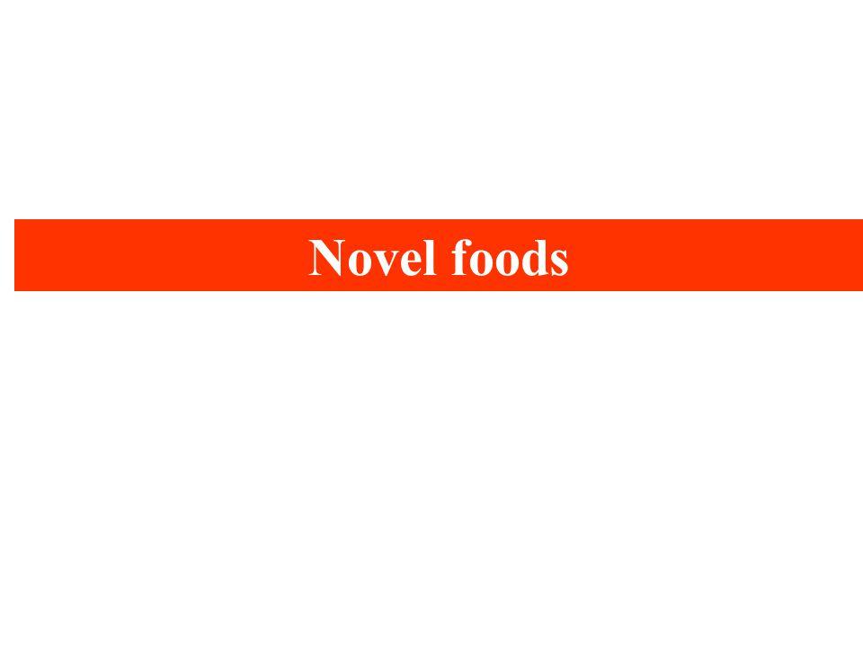 Novel foods
