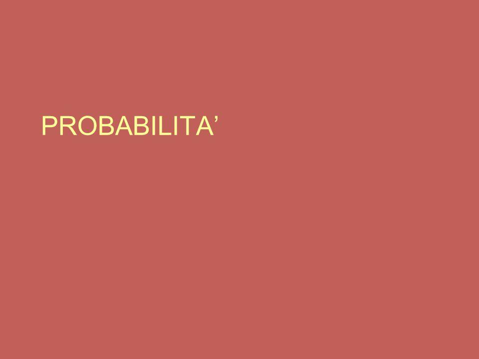 PROBABILITA'