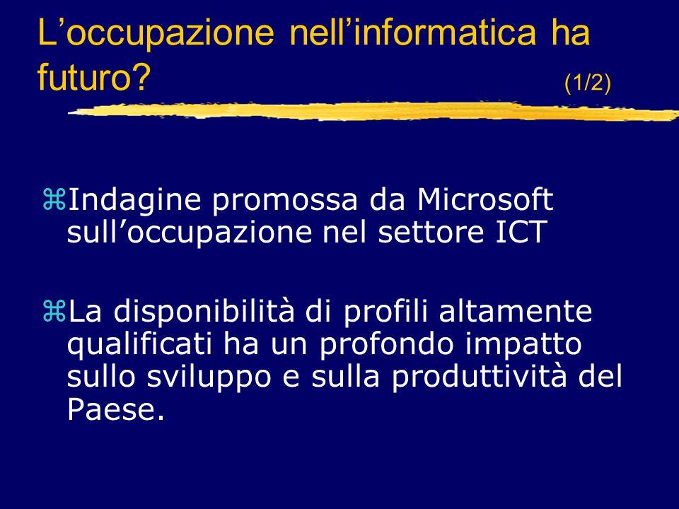 L'occupazione nell'informatica ha futuro (1/2)