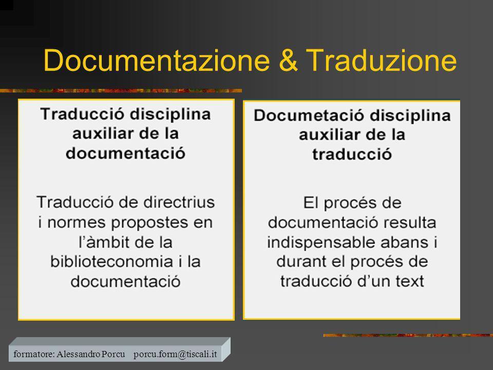 Documentazione & Traduzione