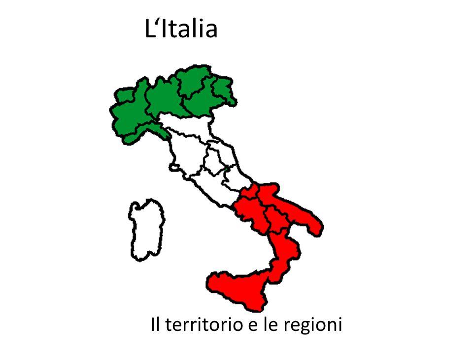 Il territorio e le regioni
